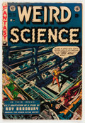 Golden Age (1938-1955):Science Fiction, Weird Science #20 (EC, 1953) Condition: VG-....