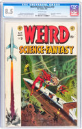 Golden Age (1938-1955):Science Fiction, Weird Science-Fantasy #23 (#1) (EC, 1954) CGC VF+ 8.5 Off-whitepages....