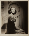 Autographs:Celebrities, Joan Crawford, Film Actress. Signed and Inscribed Photograph. 8 x10 inches. Very good....