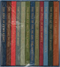 Books:Children's Books, Beatrix Potter. The Tales of Beatrix Potter. Folio Society,[n. d.]. Reprint editions. 12 volumes held in publisher'...
