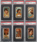 "Non-Sport Cards:Sets, 1889 N24 Allen Ginter ""Types of All Nations"" Complete Set (50). ..."