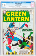 Silver Age (1956-1969):Superhero, Green Lantern #1 (DC, 1960) CGC VG/FN 5.0 Off-white to white pages....