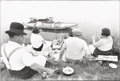 Photographs:20th Century, HENRI CARTIER-BRESSON (French, 1908-2004). Sunday on the Banksof the River Marne, 1938. Gelatin silver, circa 1988. 9-1...