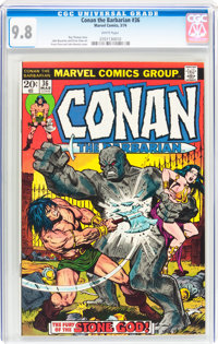 Conan the Barbarian #36 (Marvel, 1974) CGC NM/MT 9.8 White pages