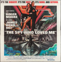 "Movie Posters:James Bond, The Spy Who Loved Me (United Artists, 1977). International SixSheet (76.5"" X 77.25""). James Bond.. ..."