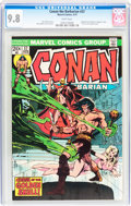 Bronze Age (1970-1979):Superhero, Conan the Barbarian #37 (Marvel, 1974) CGC NM/MT 9.8 White pages....