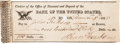 Autographs:Military Figures, Henry Dearborn Check Signed....