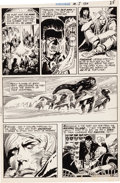 Original Comic Art:Panel Pages, Joe Kubert Tomahawk #134 Firehair Page 4 Original Art (DC, 1971)....