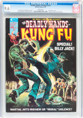 Magazines:Superhero, The Deadly Hands of Kung Fu #11 (Marvel, 1975) CGC NM+ 9.6 Whitepages....