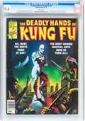 Magazines:Miscellaneous, The Deadly Hands of Kung Fu #22 (Marvel, 1976) CGC NM 9.4 White pages....