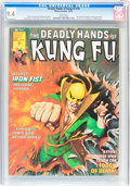 Magazines:Superhero, The Deadly Hands of Kung Fu #19 (Marvel, 1975) CGC NM 9.4 Whitepages....