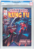 Magazines:Superhero, The Deadly Hands of Kung Fu #13 (Marvel, 1975) CGC NM 9.4 Whitepages....