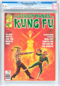Magazines:Miscellaneous, The Deadly Hands of Kung Fu #24 (Marvel, 1976) CGC NM 9.4 Whitepages....