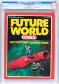 Magazines:Science-Fiction, Future World Comix #1 (Warren, 1978) CGC NM 9.4 Off-white pages....