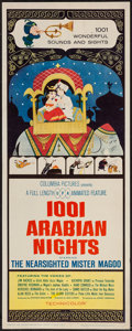 "Movie Posters:Animation, 1001 Arabian Nights (Columbia, 1959). Insert (14"" X 36""). Animation.. ..."
