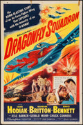 "Movie Posters:War, Dragonfly Squadron (Allied Artists, 1954). One Sheet (27"" X 41"").War.. ..."
