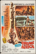 "Movie Posters:Adventure, Drums of Africa and Other Lot (MGM, 1963). One Sheets (2) (27"" X41""). Adventure.. ... (Total: 2 Items)"