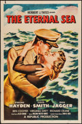 "Movie Posters:War, The Eternal Sea (Republic, 1955). One Sheet (27"" X 41""). War.. ..."