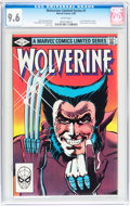 Modern Age (1980-Present):Superhero, Wolverine Limited Series #1 (Marvel, 1982) CGC NM+ 9.6 Whitepages....