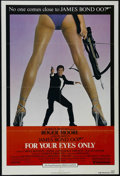 """Movie Posters:Action, For Your Eyes Only (United Artists, 1981). One Sheet (27"""" X 41""""). Action. Starring Roger Moore, Carole Bouquet, Topol and Ly..."""