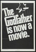 """Movie Posters:Crime, The Godfather (Paramount, 1972). One Sheet (27"""" X 41"""") Advance.Crime Drama. Directed by Francis Ford Coppola. Starring Marl..."""
