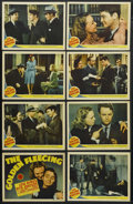 "Movie Posters:Comedy, The Golden Fleecing (MGM, 1940). Lobby Card Set of 8 (11"" X 14"").Crime Comedy. Starring Lew Ayres, Rita Johnson, Lloyd Nola...(Total: 8 Items)"