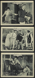 "Movie Posters:Serial, Hurricane Hutch (Pathe', 1921). Lobby Cards (3) (11"" X 14"").Serial. Starring Charles Hutchinson, Lucy Fox, Warner Oland and...(Total: 3 Items)"