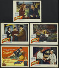 "Movie Posters:Film Noir, Impact (United Artists, 1949). Title Lobby Card (11"" X 14"") and Lobby Cards (4) (11"" X 14""). Film Noir. Starring Brian Donle... (Total: 5 Items)"