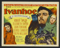"Movie Posters:Adventure, Ivanhoe (MGM, 1952). Title Lobby Card (11"" X 14""). Adventure.Starring Robert Taylor, Elizabeth Taylor, Joan Fontaine and Ge..."