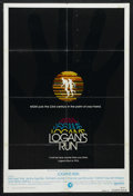 "Movie Posters:Science Fiction, Logan's Run (MGM, 1976). One Sheet (27"" X 41"") Advance. ScienceFiction. Starring Michael York, Richard Jordan, Jenny Agutte..."