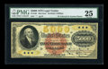 Large Size:Legal Tender Notes, Fr. 188 $5000 1878 Legal Tender PMG Very Fine 25....