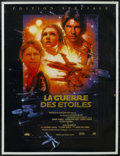 "Movie Posters:Science Fiction, Star Wars (20th Century Fox, R-1997). French Grande (45.5"" X 61"").Science Fiction. Directed by George Lucas. Starring Harri..."