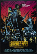 "Movie Posters:Action, Streets of Fire (Universal, 1984). One Sheet (27"" X 41""). Action.Starring Michael Pare, Diane Lane, Rick Moranis, Amy Madig..."