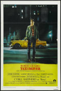 "Movie Posters:Crime, Taxi Driver (Columbia, 1976). One Sheet (27"" X 41""). Crime.Directed by Martin Scorsese. Starring Robert De Niro, Cybill She..."