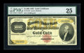 Large Size:Gold Certificates, Fr. 1218f $1000 1882 Gold Certificate PMG Very Fine 25....