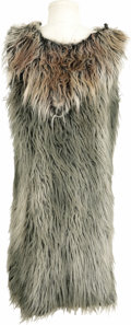 "Movie/TV Memorabilia:Costumes, Tunic Worn in ""Flintstones in Viva Rock Vegas."" A faux fur tunicworn by an extra in the 2000 film Flintstones in Viva Roc...(Total: 1 Item)"