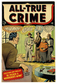 All-True Crime Cases #30 Mile High pedigree (Atlas, 1948) Condition: NM. Overstreet 2006 NM- 9.2 value = $120. From the...