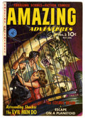Golden Age (1938-1955):Science Fiction, Amazing Adventures #3 (Ziff-Davis, 1951) Condition: VG. Paintedcover. Overstreet 2006 VG 4.0 value = $80. From theCollec...