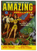 Golden Age (1938-1955):Science Fiction, Amazing Adventures #5 (Ziff-Davis, 1951) Condition: VG. Paintedcover. Murphy Anderson art. Overstreet 2006 VG 4.0 value = $...