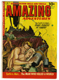 Golden Age (1938-1955):Science Fiction, Amazing Adventures #6 (Ziff-Davis, 1952) Condition: VG-. Paintedcover. Bernie Krigstein art. Based on this copy's provenanc...