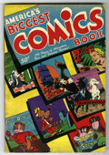 Golden Age (1938-1955):Adventure, America's Biggest Comics Book #1 (Wm. H. Wise & Co., 1944) Condition: FN+. 196 pages. Appearances by The Grim Reaper, The Si...
