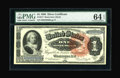 Fr. 217 $1 1886 Silver Certificate PMG Choice Uncirculated 64 EPQ