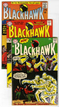 Silver Age (1956-1969):Adventure, Blackhawk #201, 203, and 209 Group (DC, 1964-65) Condition: Average VF+. Issues include #201, 203 (origin of Chop Chop), and... (Total: 3 Comic Books)