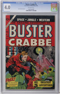 Golden Age (1938-1955):Science Fiction, Buster Crabbe #2 (Famous Funnies, 1953) CGC VG 4.0 Off-white towhite pages. Alex Toth cover and art. This is the only CGC-g...