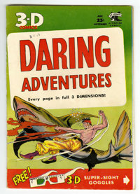 Daring Adventures 1 (3-D) (St. John, 1953) Condition: VF. 3-D glasses included. Reprints the lead story from Son of Sinb...