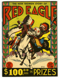 Golden Age (1938-1955):Western, Feature Books #16 Red Eagle - Mile High pedigree (David McKay,1938) Condition: VF. Oversized with rough, heavy stock cover....