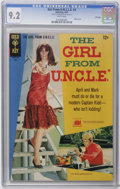 Silver Age (1956-1969):Miscellaneous, Girl From U.N.C.L.E. #3 File Copy (Gold Key, 1967) CGC NM- 9.2 White pages. Photo front and back covers featuring Stephanie ...