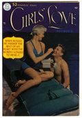 "Golden Age (1938-1955):Romance, Girls' Love Stories #8 Davis Crippen (""D"" Copy) pedigree (DC, 1950)Condition: VF. Photo cover. Overstreet 2006 VF 8.0 value..."