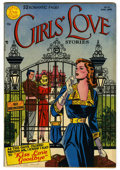 "Golden Age (1938-1955):Romance, Girls' Love Stories #10 Davis Crippen (""D"" Copy) pedigree (DC,1951) Condition: VF-. Overstreet 2006 VF 8.0 value = $124...."