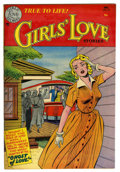 "Golden Age (1938-1955):Romance, Girls' Love Stories #20 Davis Crippen (""D"" Copy) pedigree (DC,1952) Condition: VF+. Overstreet 2006 VF 8.0 value = $94; VF/..."